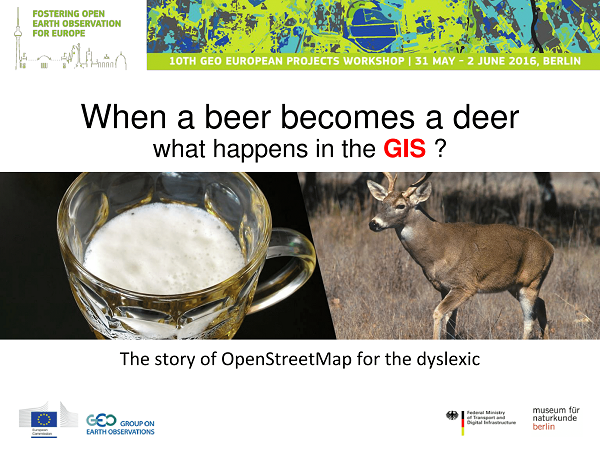 Slide 1 - When a beer becomes a deer