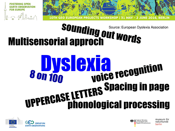 Slide 2 - Few words on dyslexia